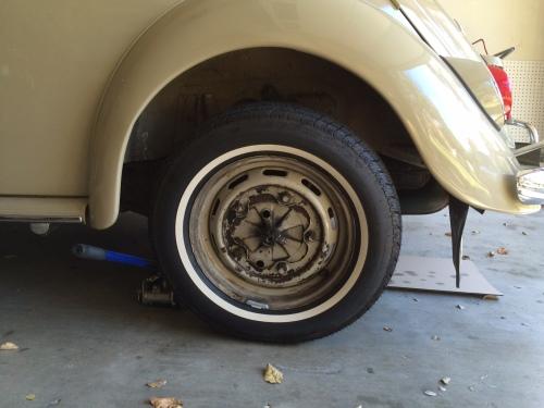 Vintage Volkswagen Fuel Filter Installation