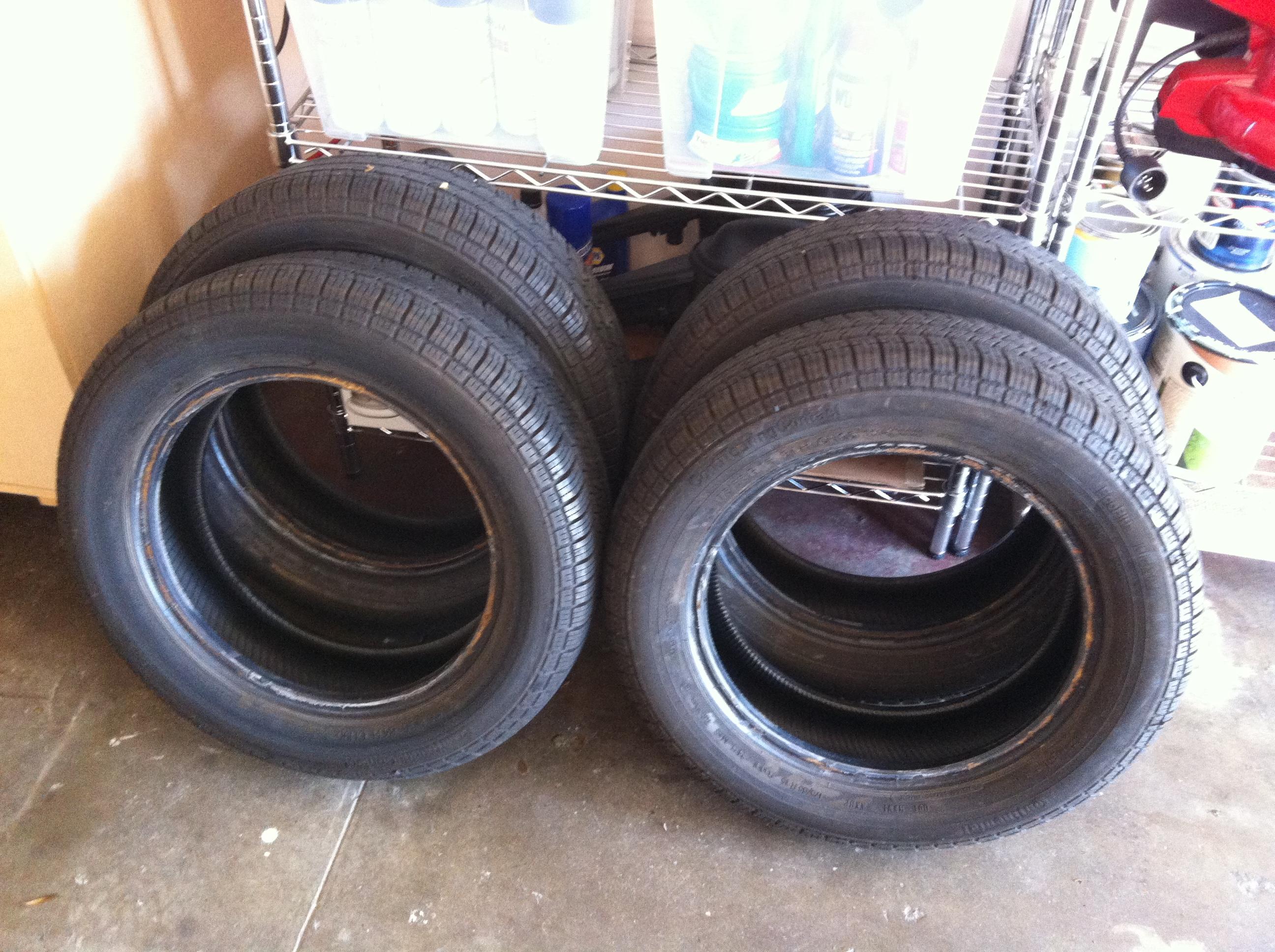 sold 175 65 r15 continental tires 1967 vw beetle. Black Bedroom Furniture Sets. Home Design Ideas
