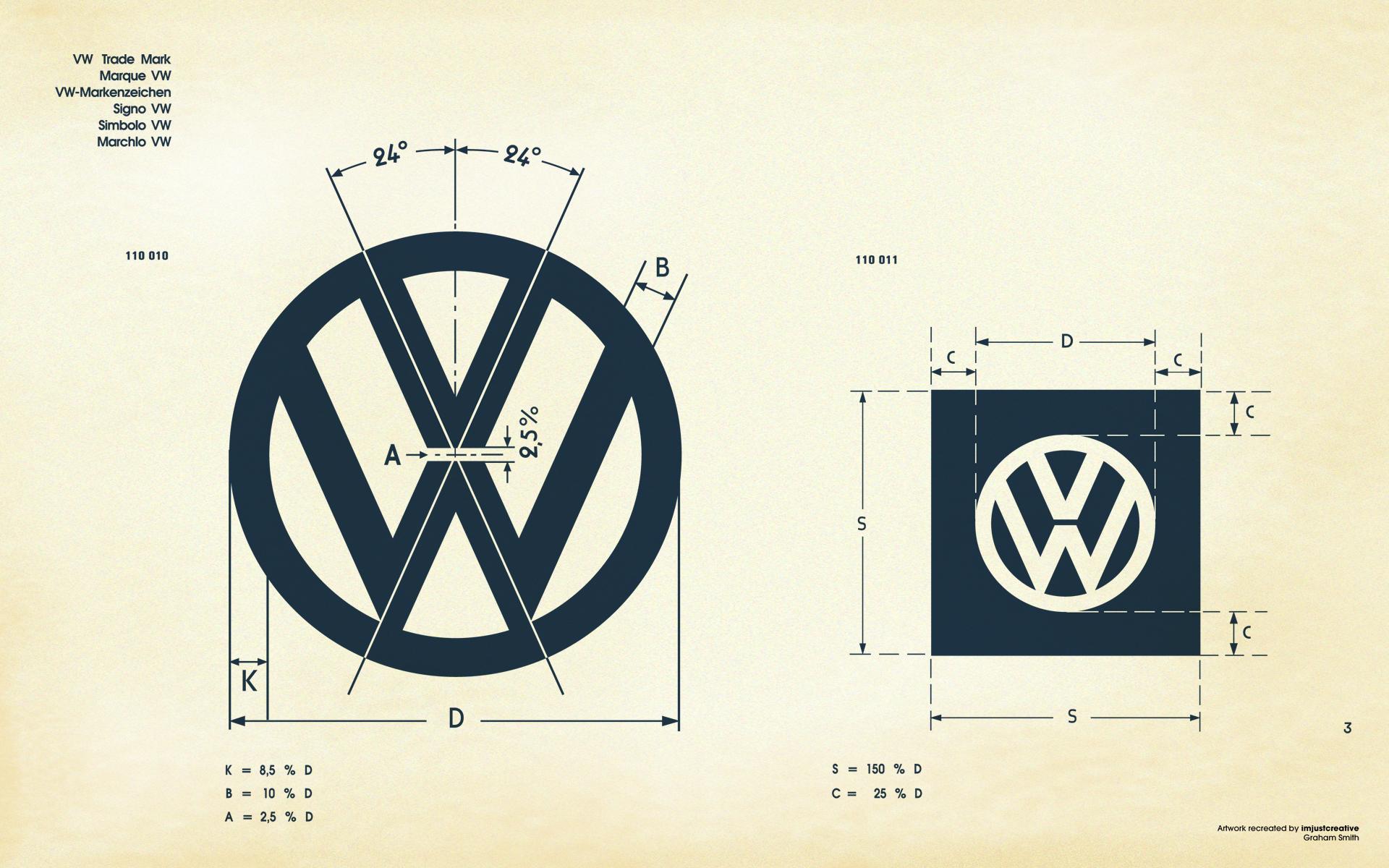 VW Logo Specs