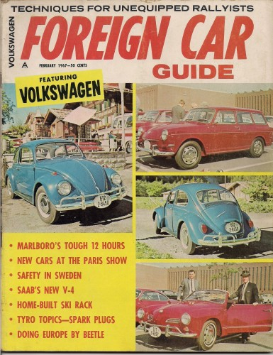 '67 Volkswagen Beetle — Traveling in Europe