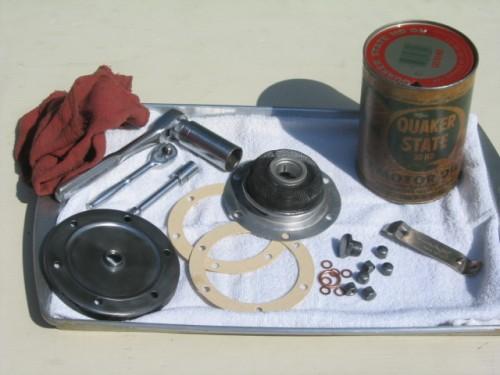 '67 Volkswagen Beetle — Changing the Oil