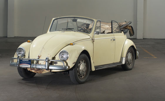 sold l19 yukon yellow 67 vert 1967 vw beetle. Black Bedroom Furniture Sets. Home Design Ideas