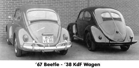 '67 Volkswagen Beetle — The Best Year