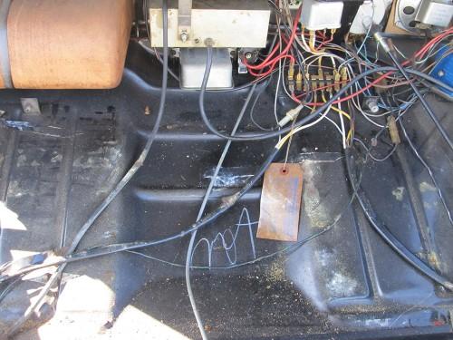 '67 Volkswagen Beetle — Crayon Markings