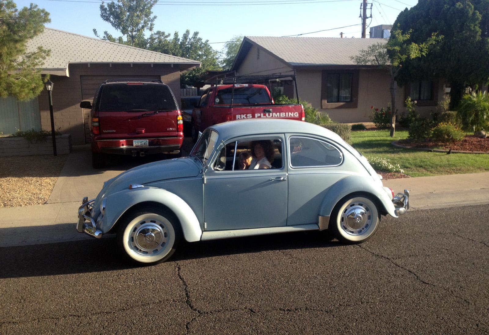 Featured '67 Beetle — Becky Koski