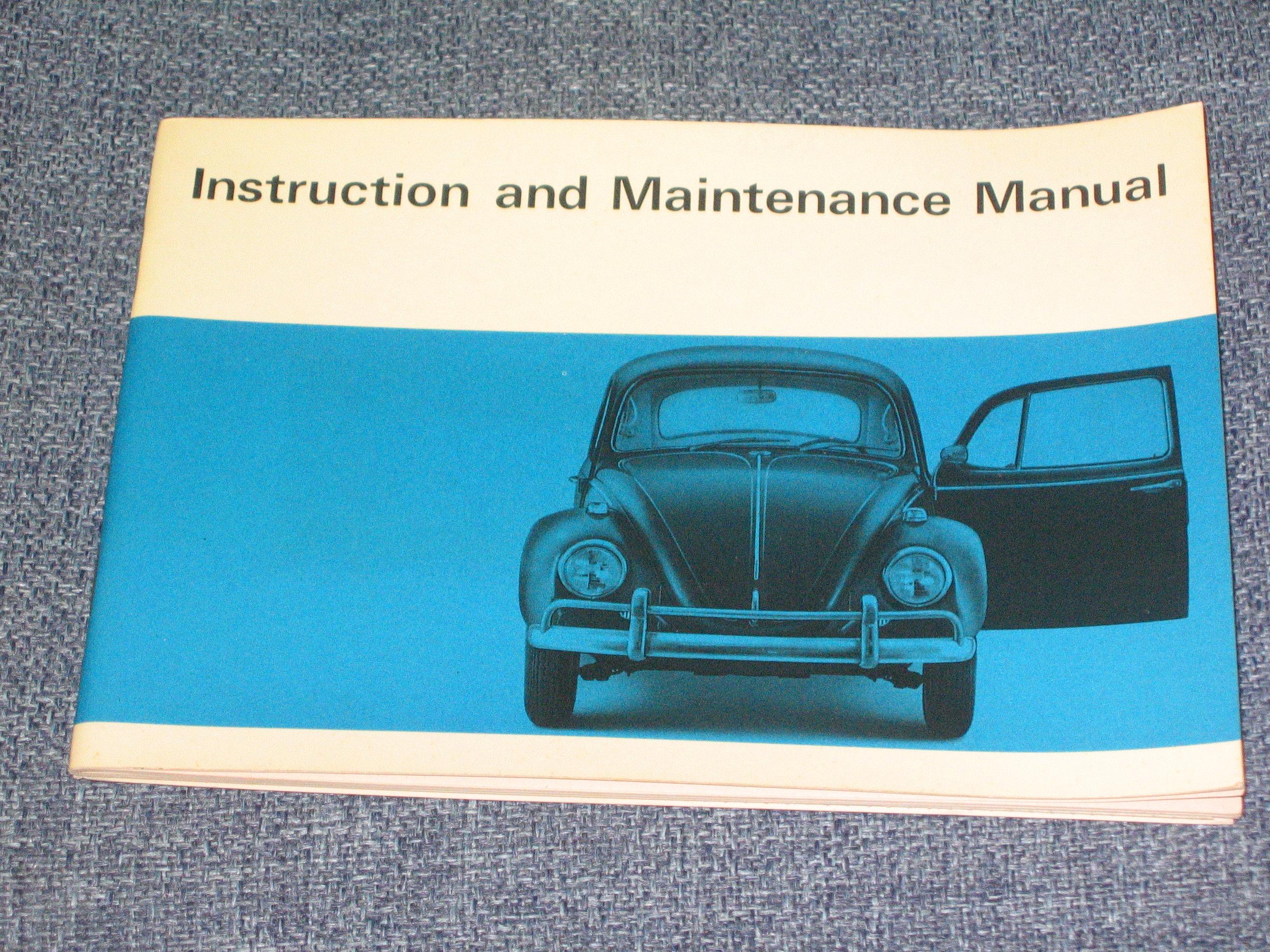 1967Owner'sManual 001