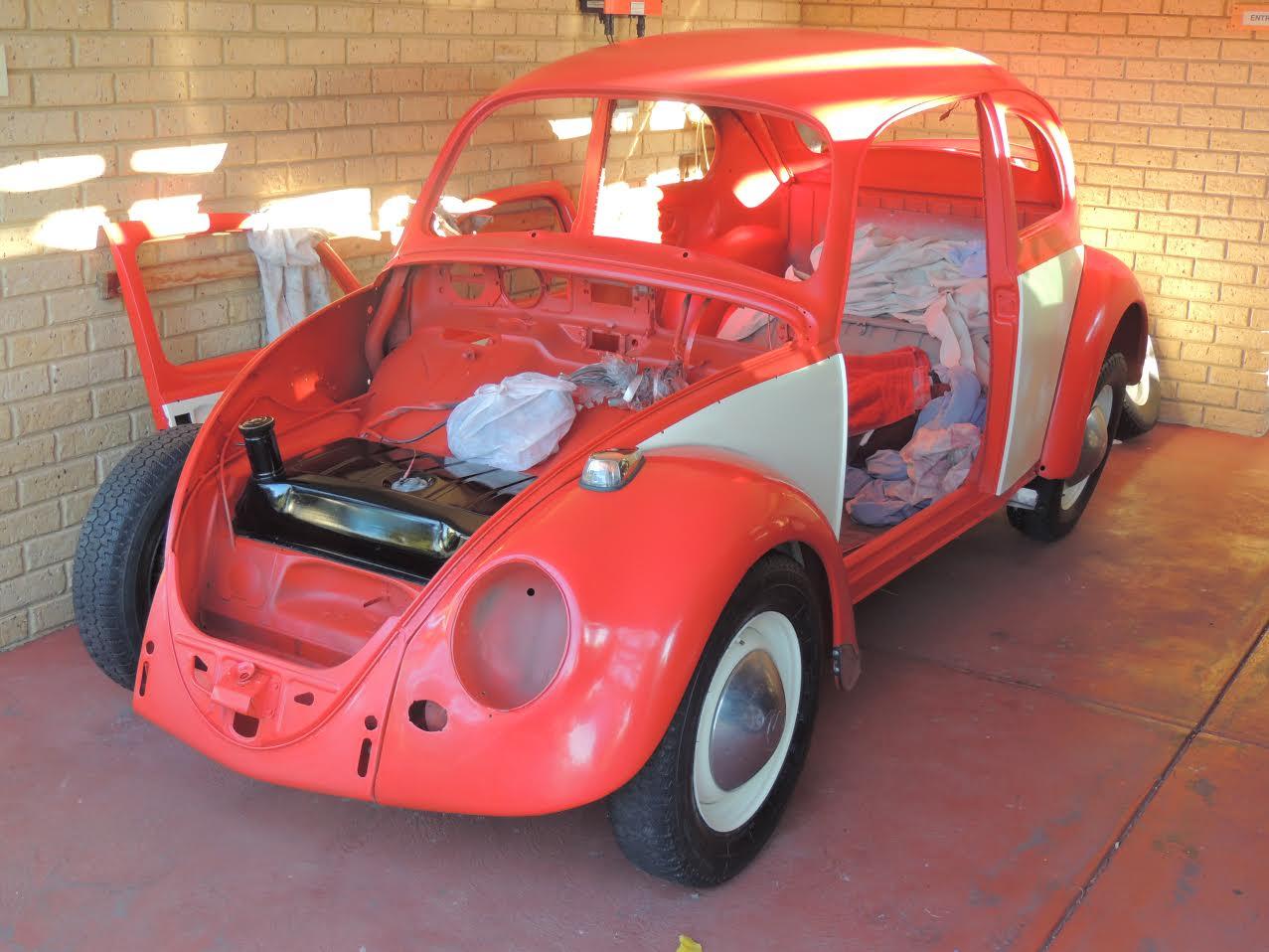 Graham Patterson's RHD '67 Beetle