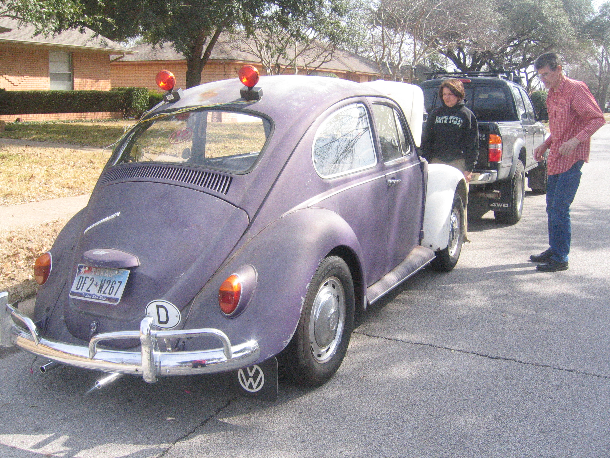 Beth Leverman's '67 Beetle
