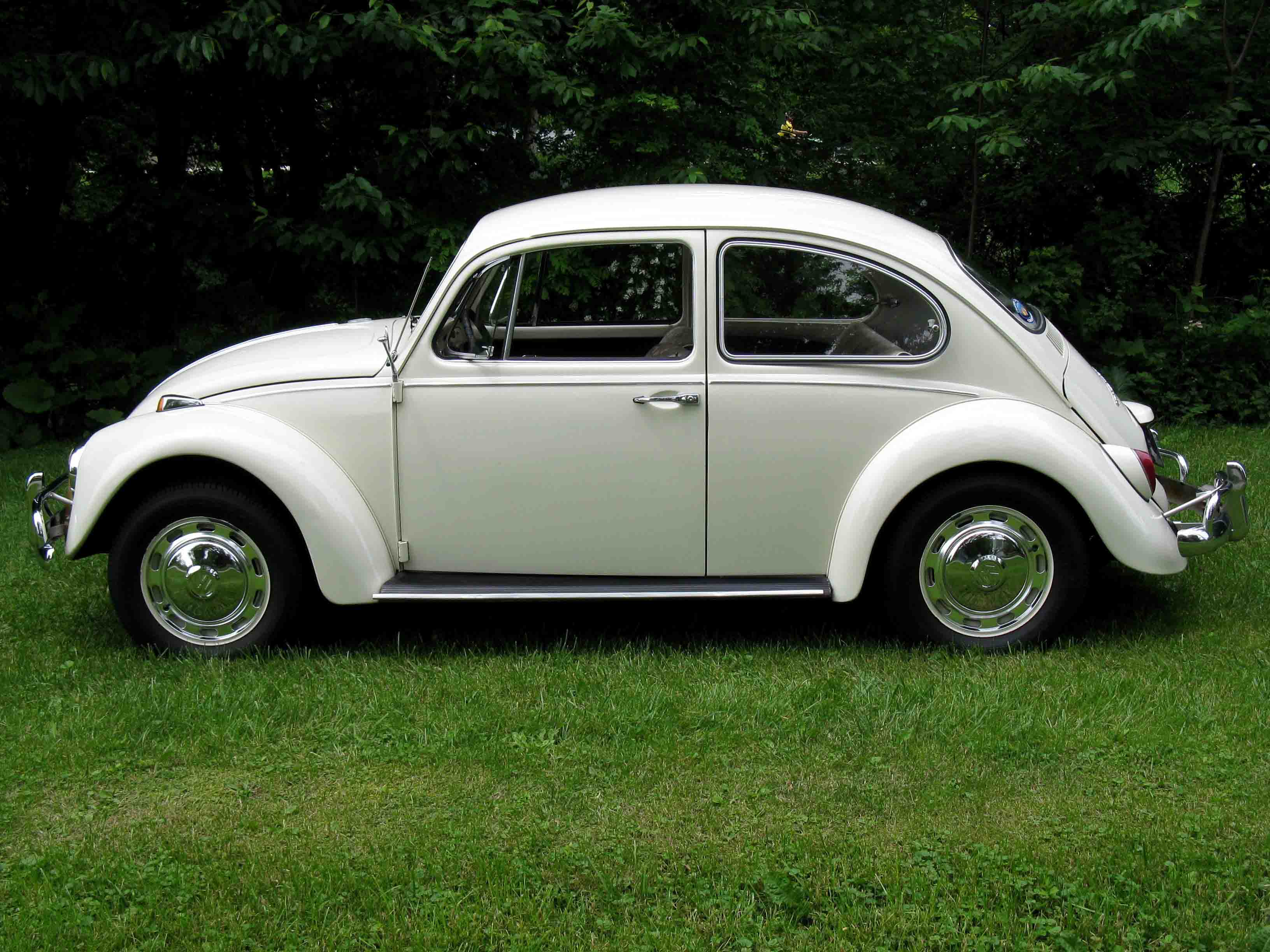 Sold L282 Lotus White 67 Beetle 1967 Vw Beetle