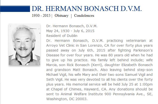 Hermann obituary notice