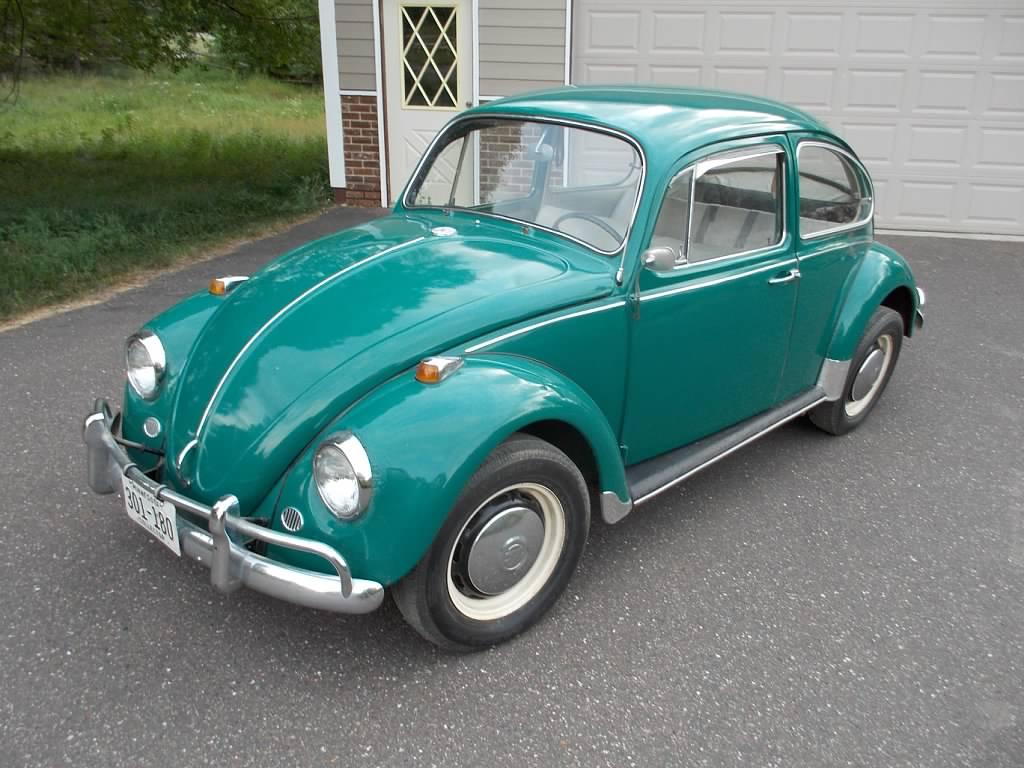for sale l581 java green 67 beetle 1967 vw beetle. Black Bedroom Furniture Sets. Home Design Ideas
