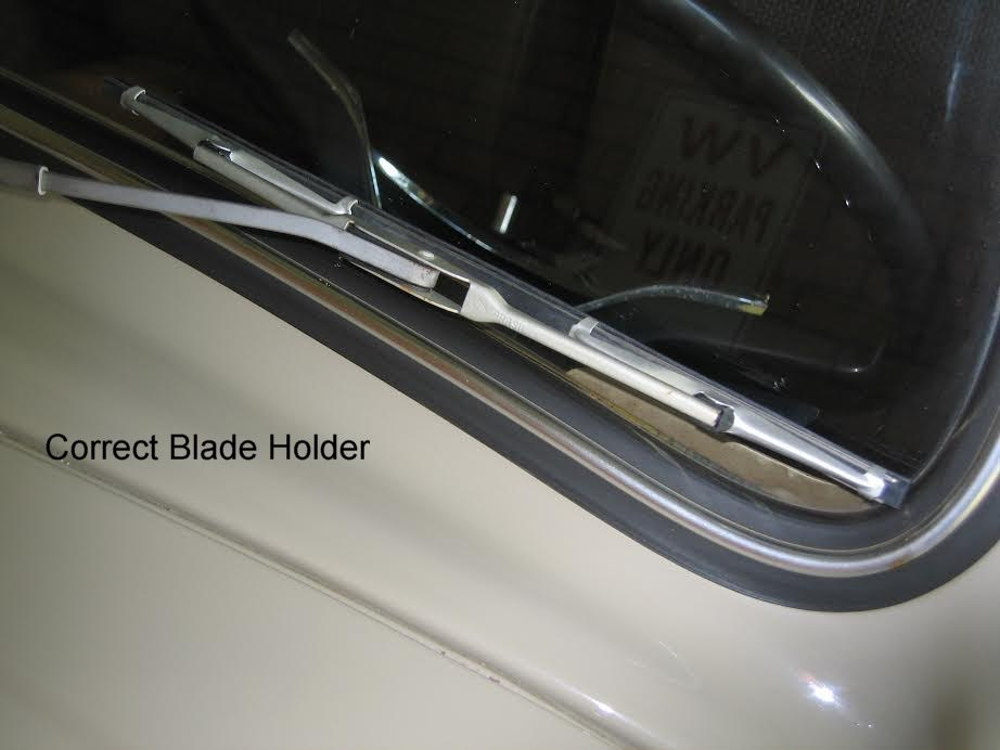 The Correct '67 Beetle Wiper Blades