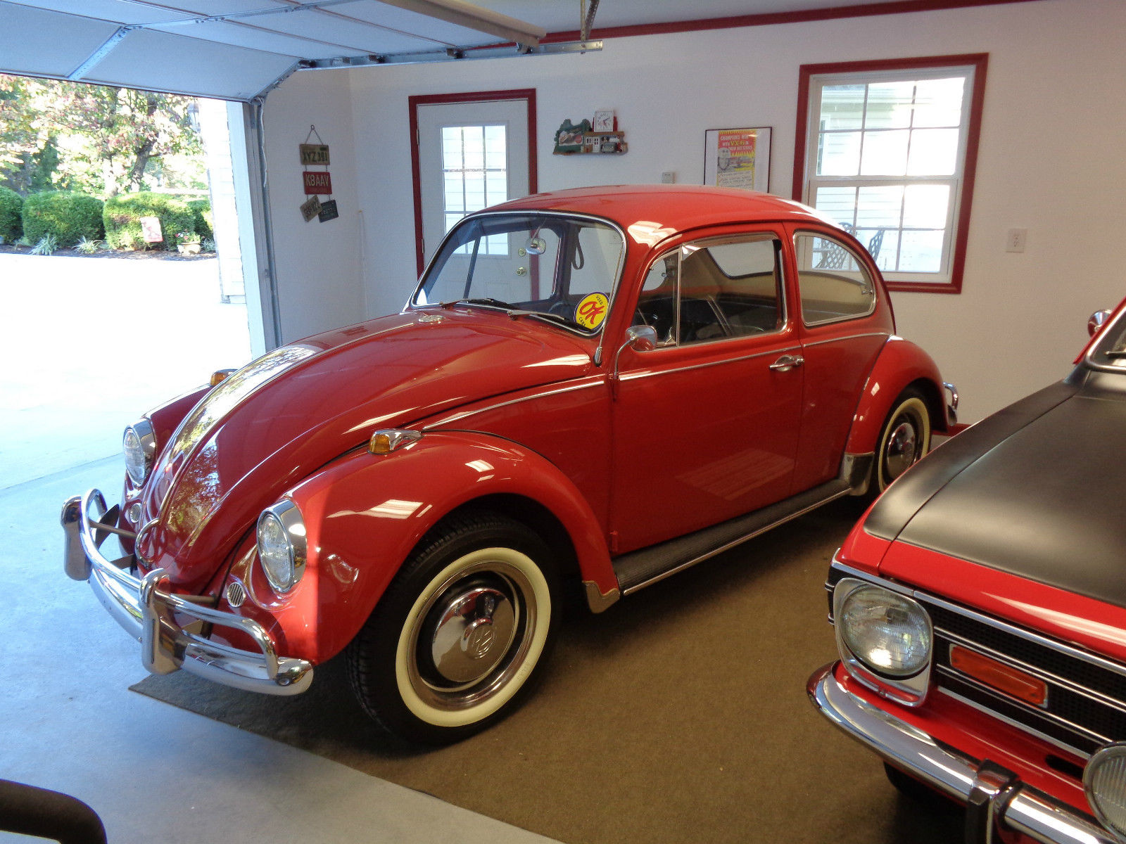 FOR SALE – L456 Ruby Red '67 Beetle