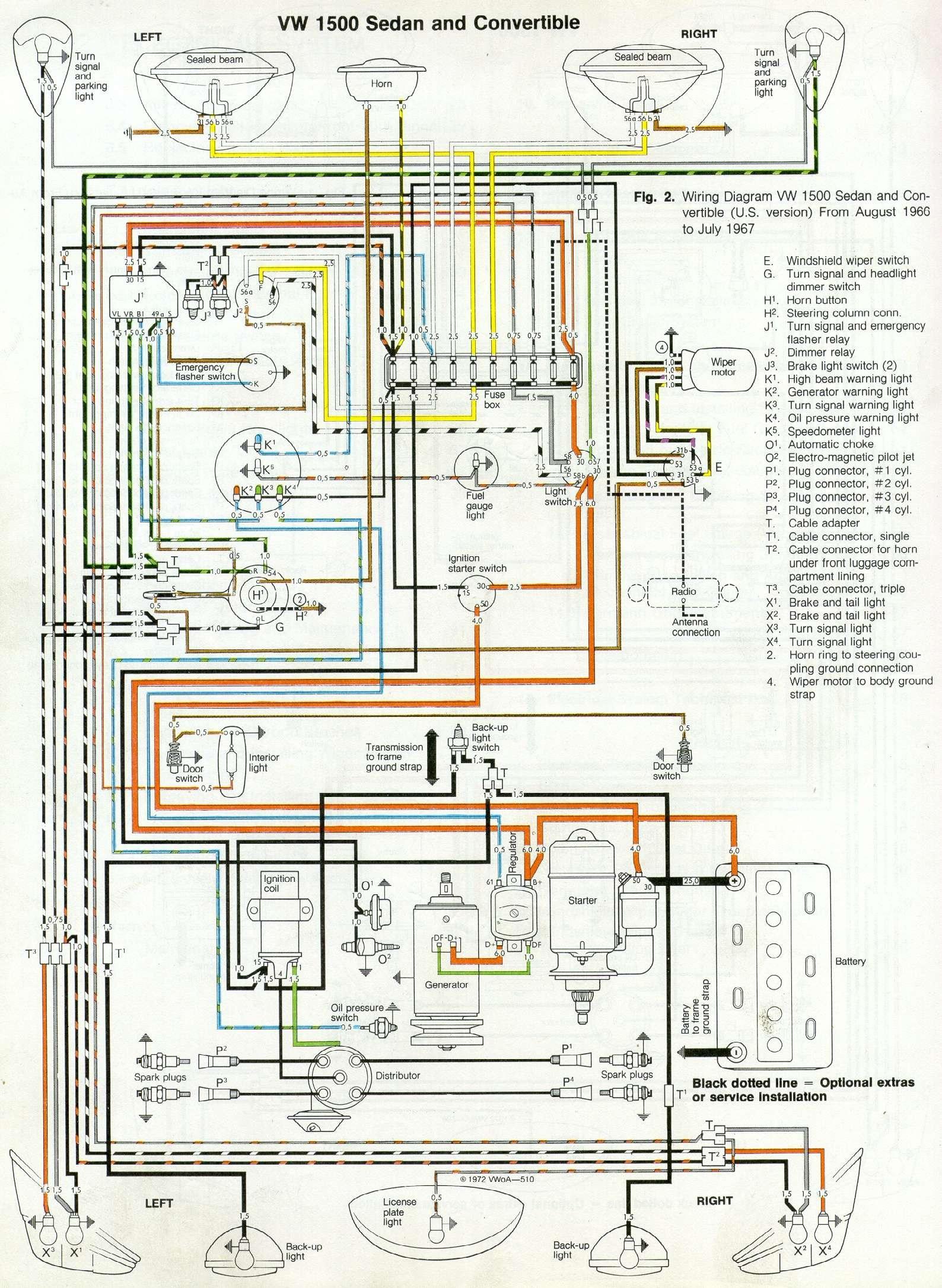 VW-Beetle-Wiring-Digram