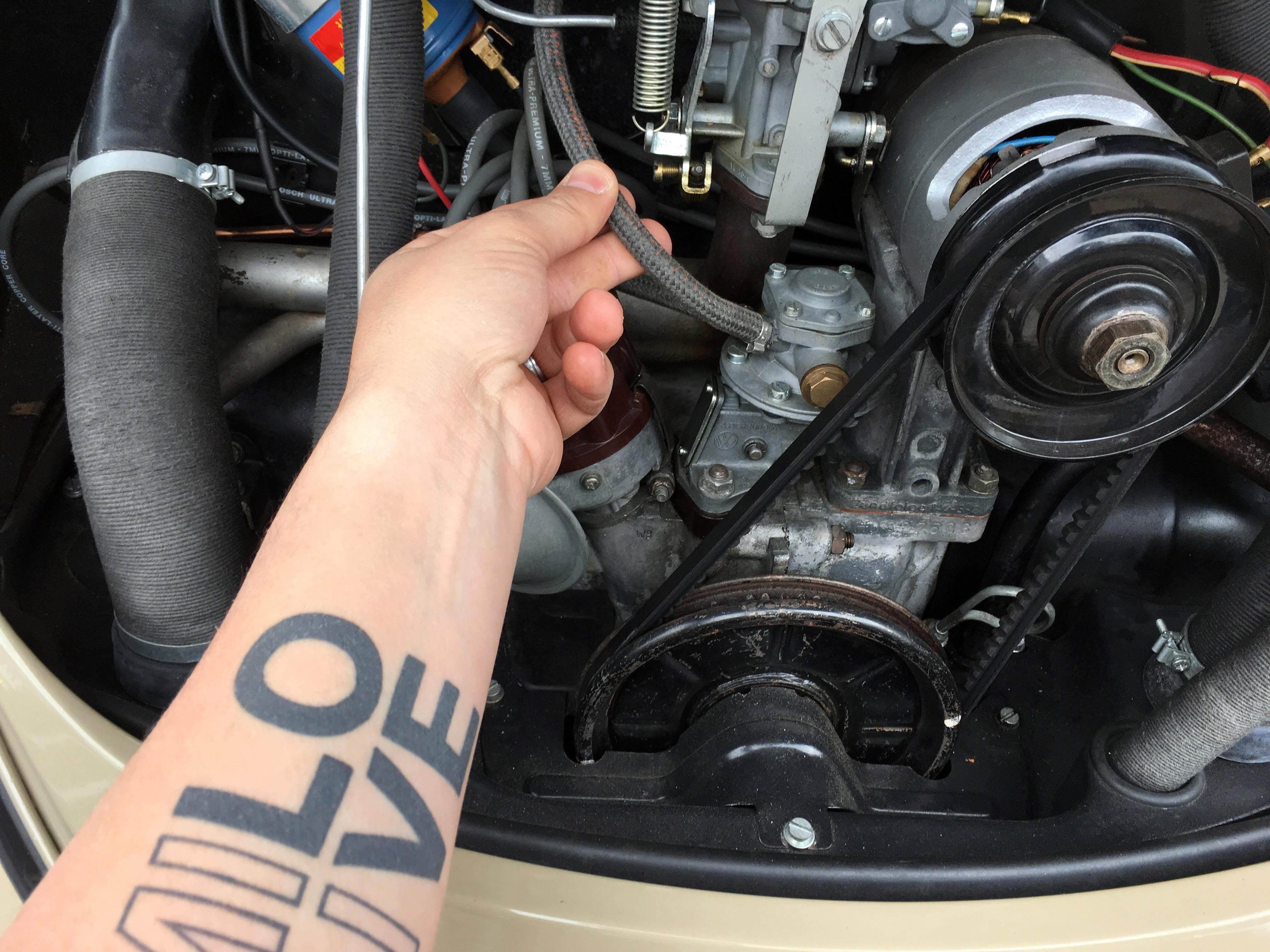 Vintage Volkswagen Beetle Fuel Pressure 1967 Vw Beetle