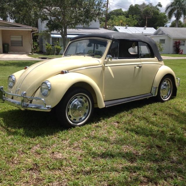 Vw 1600 Beetle For Sale: FOR SALE – L19K Yukon Yellow '67 Beetle